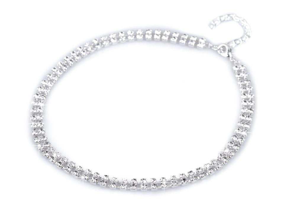 1ab4c44b6 Bižutéria | Štrasový náhrdelník dvojradový - jablonecká bižutéria ...