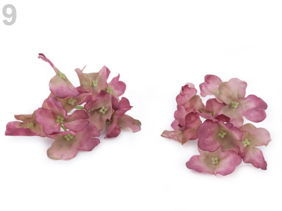 45db427151c7 Umelý kvet hortenzia - 2 ks empty
