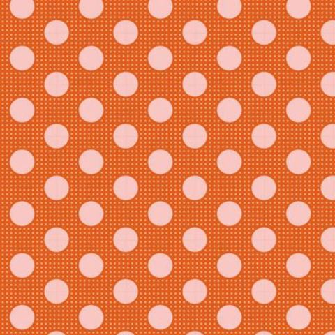 TILDA CLASSIC BASICS - MEDIUM DOTS GINGER